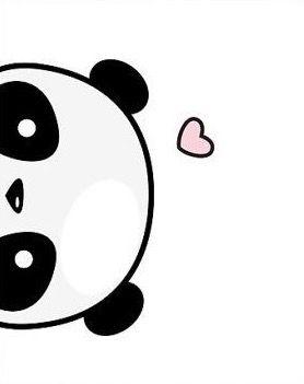 278x351 Wallper Cute Drawings, Panda