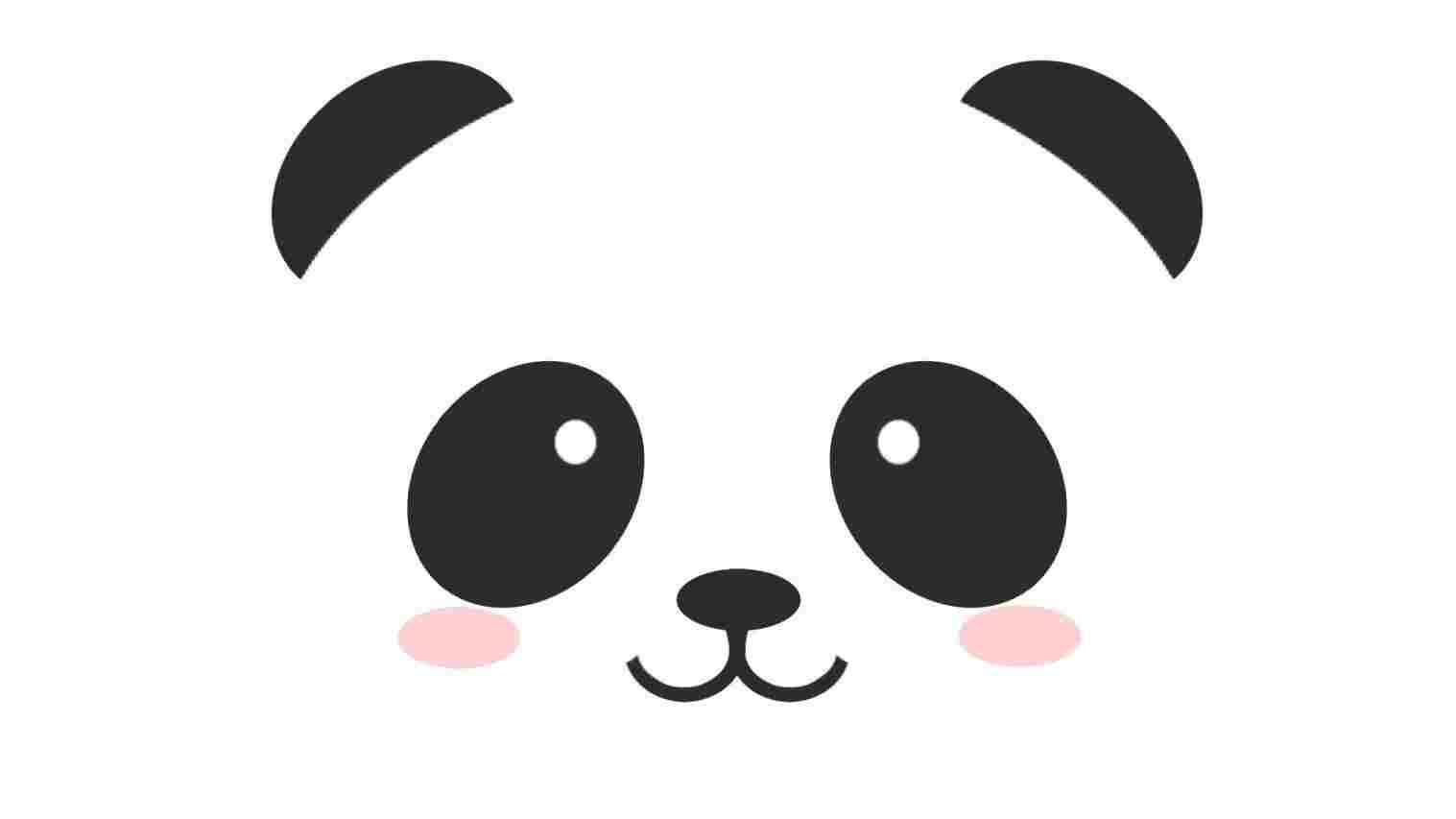 1517x853 Wallpapers Cute Little Panda Drawings Hd Free Download