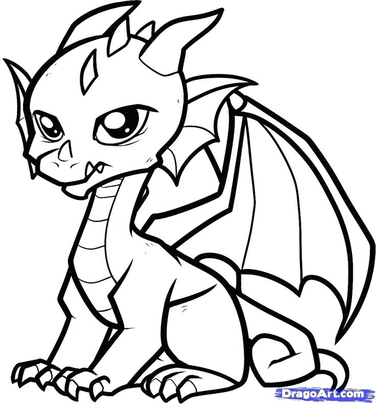 736x790 Cute Dragons To Draw Baby Cute Anime Dragon Drawings Hoteles