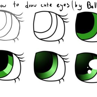 320x320 Cute Easy Eyes Drawing How To Draw Easy Cute Eyes Drawings