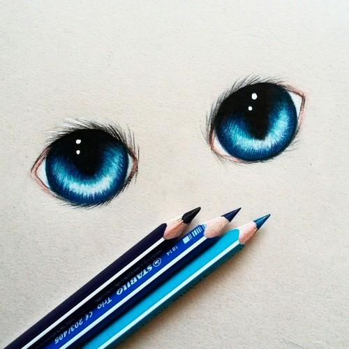 500x500 Cute Cat Eyes By Me Gtig On We Heart It