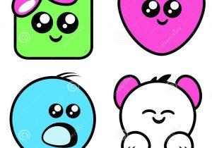 300x210 Draw Cartoon Animals With Big Eyes Kawaii Drawings