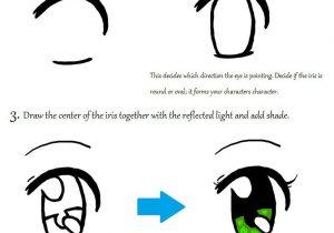 300x210 Chibi Eyes Drawing Tutorial How To Draw Chibi Eyes, Stepstep