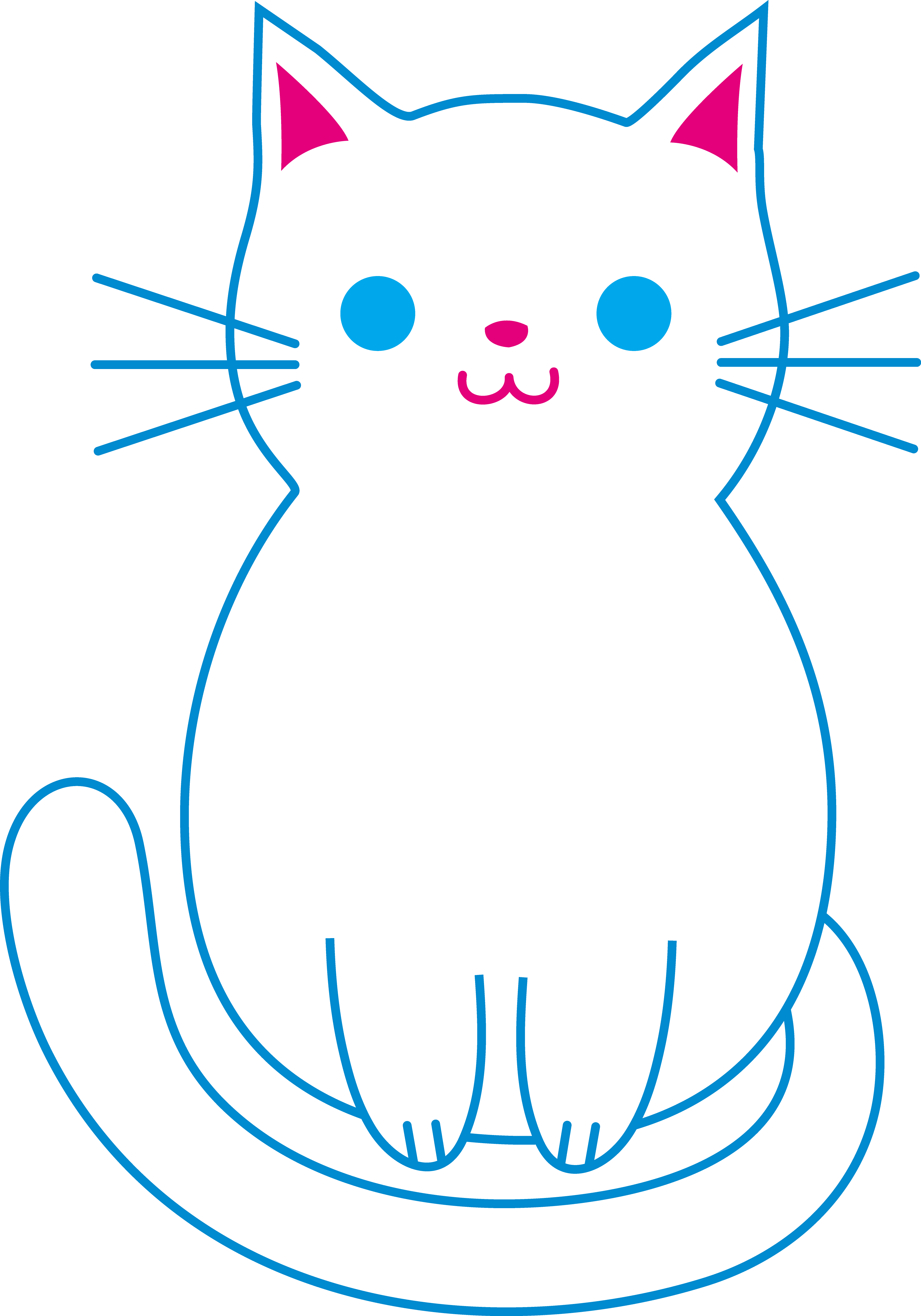 3528x5039 Collection Of Free Kitten Drawing Fat Download On Ui Ex