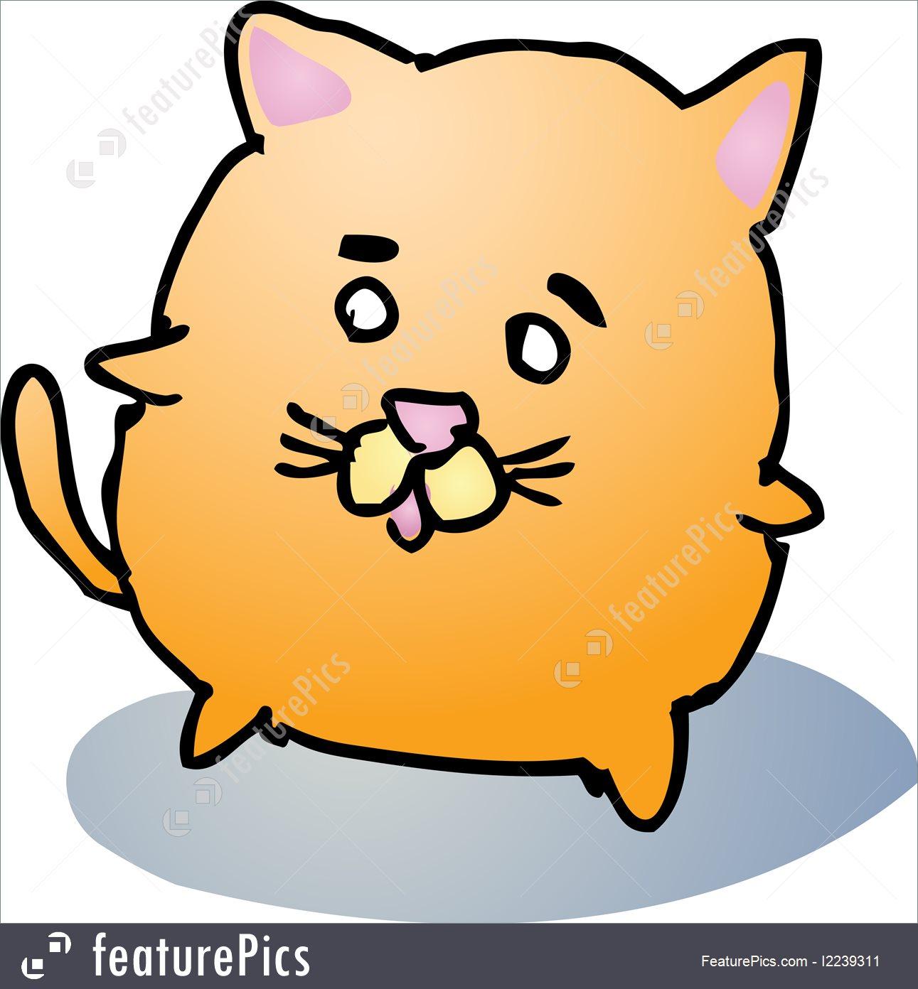 1291x1392 Cute Cats Cartoons