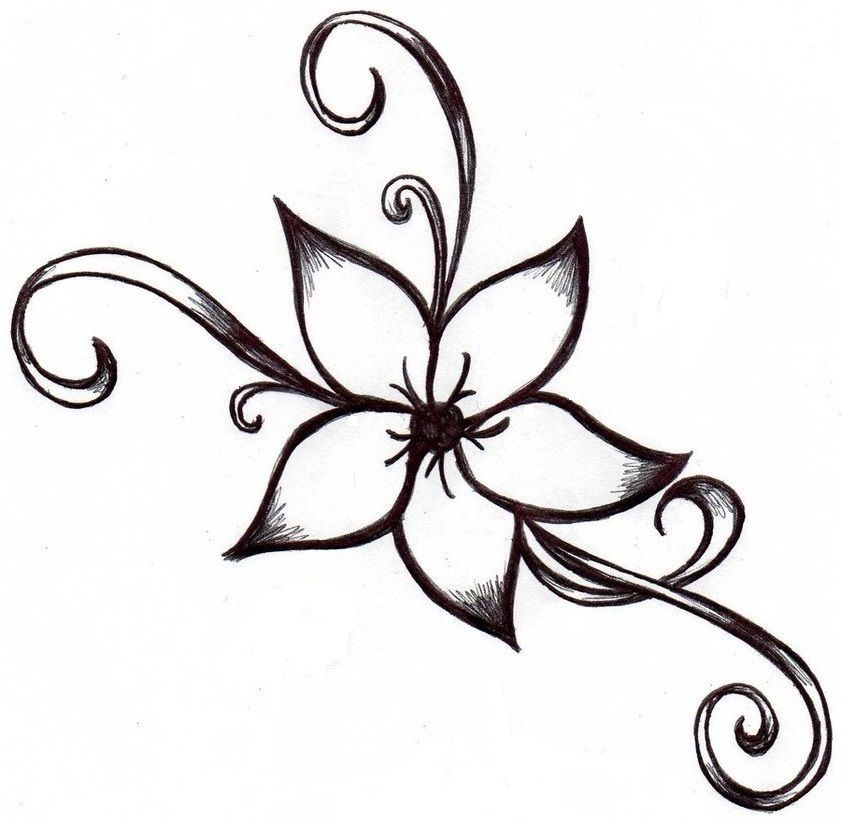 Cute Flower Drawings