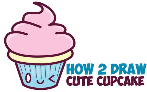 500x316 How To Draw Cute Kawaii Food