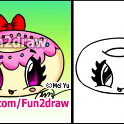 250x250 Cute And Easy Food Drawings You Can Draw Nutella Cartoon To Color