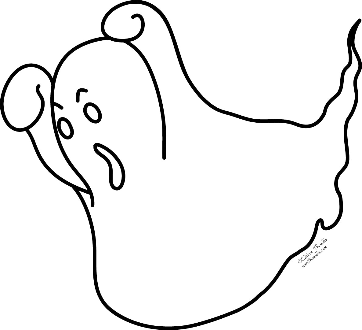 1186x1079 Cute Halloween Coloring Pages For Kids Lovely Cozy Design Ghost