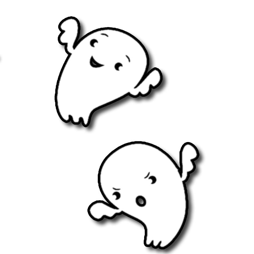 830x830 Cute Ghost Download Free Clipart With A Transparent Background