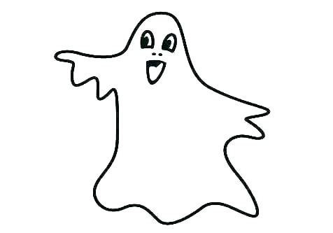 476x333 Ghost Coloring Sheets Cute Ghost Coloring Pages For Toddlers
