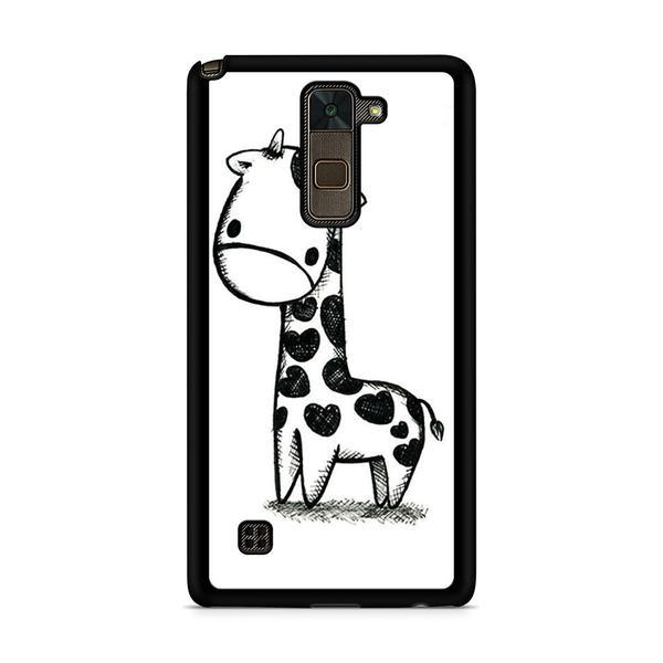 600x600 cute giraffe drawing lg stylus case skicase