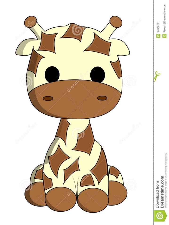 718x960 cute baby giraffe drawing baby shower cute giraffe, giraffe