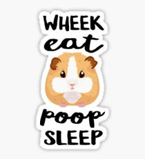 210x230 Guinea Pig Poop Stickers Redbubble
