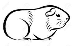 236x147 best guinea pig images guinea pigs, rabbits, pig art