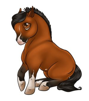 300x340 chibi horse anime horse cartoon drawing, horse cartoon, horse