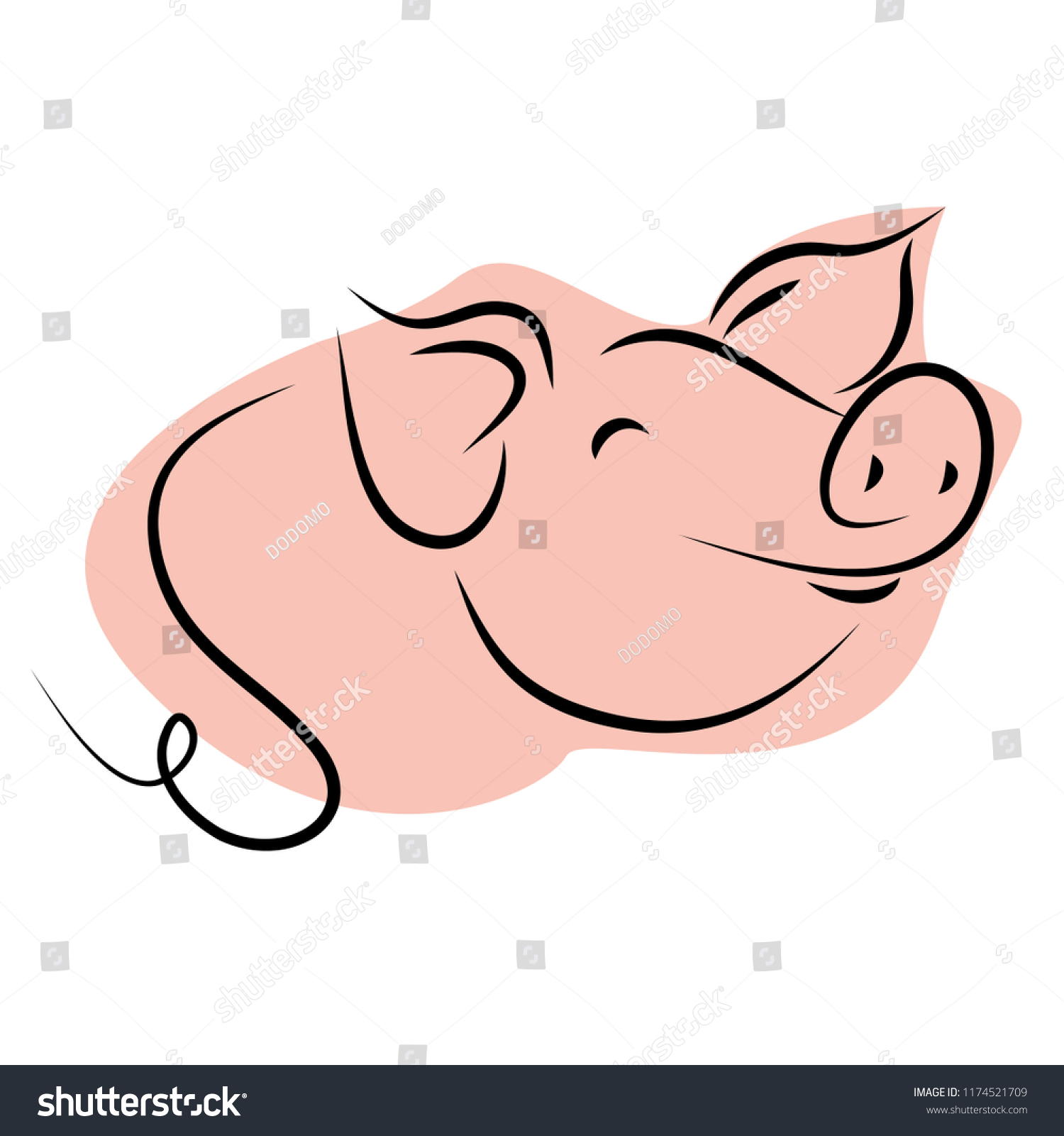 1500x1600 Funny Pig Cute Ice Cream Drawing Piglet Easy Little How To Picture