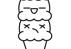 300x210 Ice Cream Drawing Easy Cute