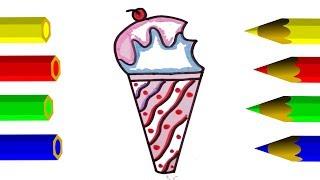 320x180 Ice Cream Drawing Easy