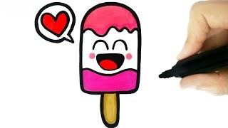 320x180 Cute Ice Cream Drawing