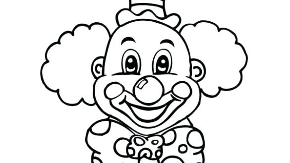 585x329 clown faces to draw joker clown face easy clown faces to draw