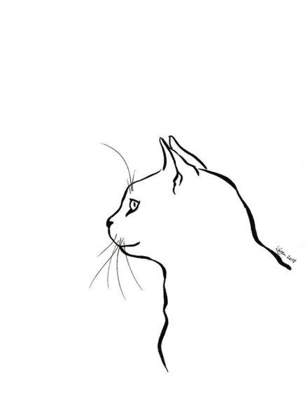437x600 Cute Kitten Drawings