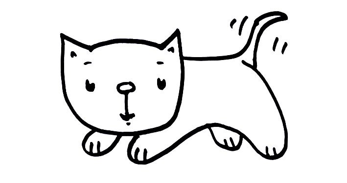 709x375 How To Draw A Cute Kitten Real Easy Shoo Rayner