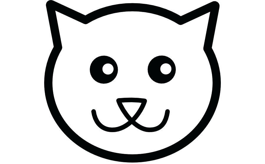 900x560 cat face drawing cat face cat face drawing easy step