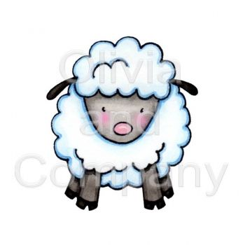350x350 cute lamb illustrations cute lamb, lamb and animal