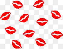 260x200 kissy lips png