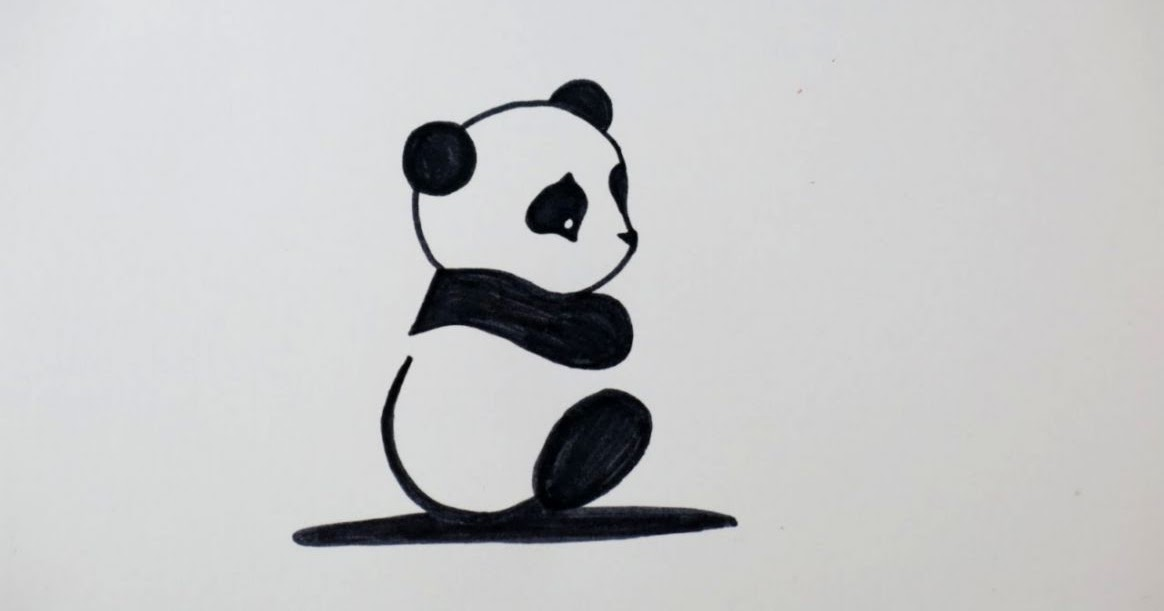 1164x611 Cute Panda Drawings For Kids Wallpapers Point