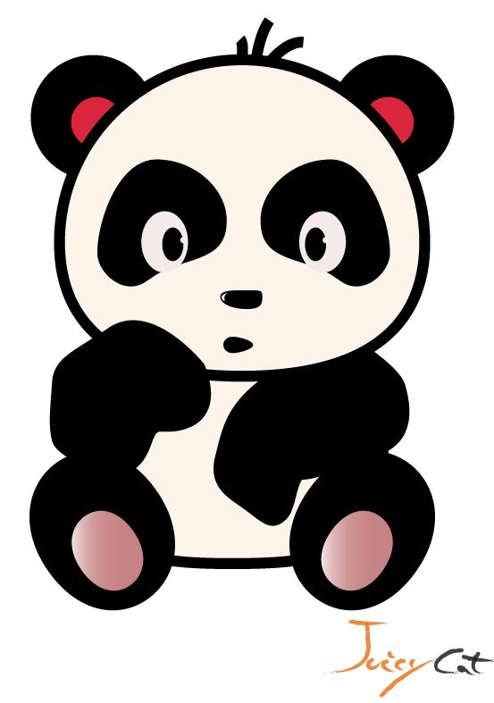 553x787 Cute Panda How To Draw A Panda Bear Cub Tutorial Drawing Baby Clip