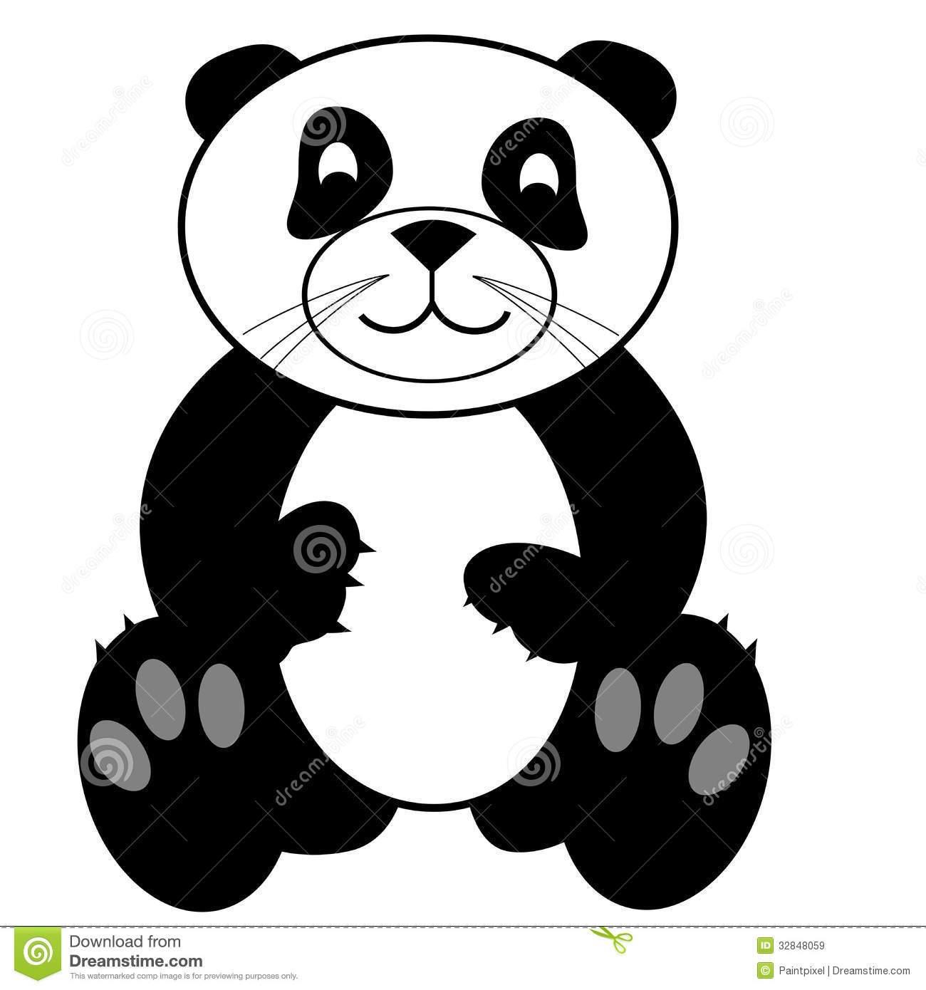 1300x1390 Panda Bear With Pencil Clip Art Ideas And Designs