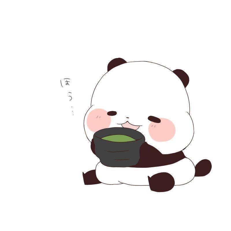 800x800 Yururin Panda In Panda Drawing, Panda