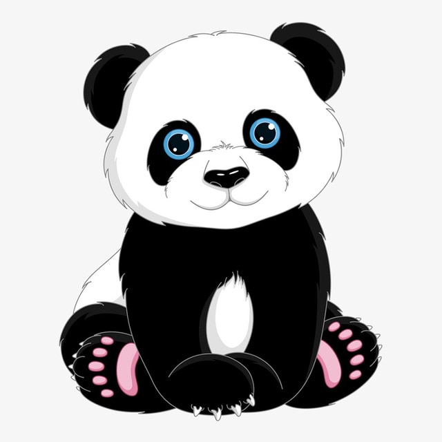 640x640 Simple How To Draw Stuffed Baby Pandas With Easy Stepstep Drawing