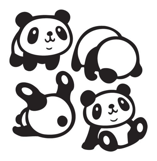 Cute Panda Drawing Tumblr
