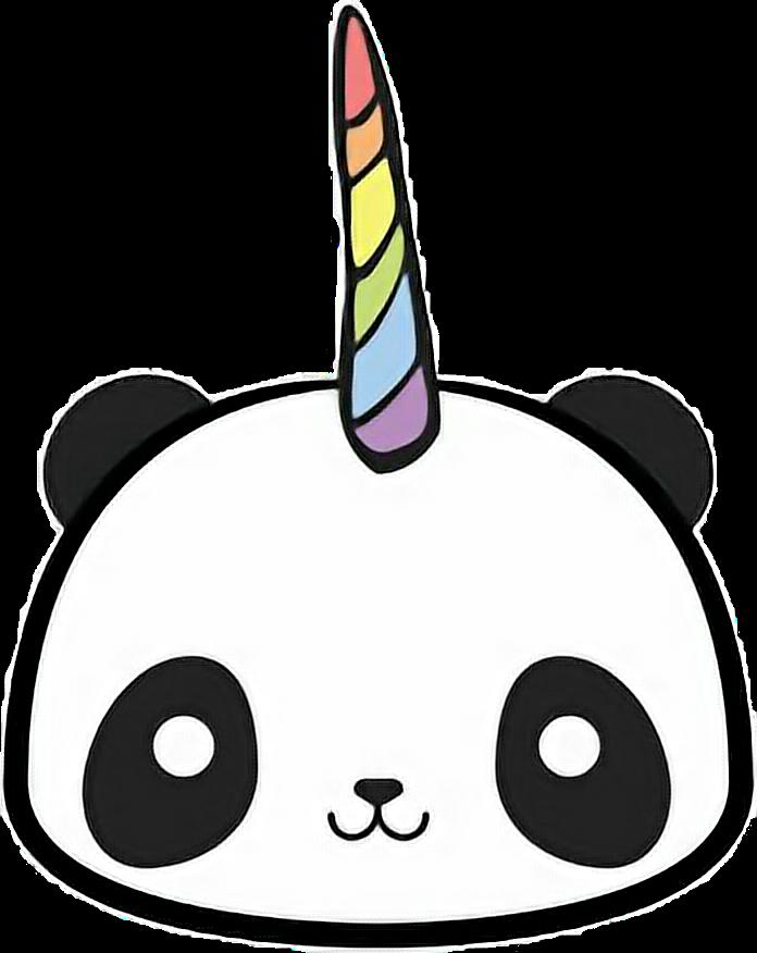 696x876 Drawing Pandas Unicorn Transparent Png Clipart Free Download