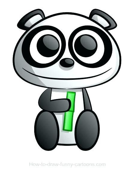 450x580 Drawings Of Pandas Brush Pens Drawing With Pandas Panda Drawing