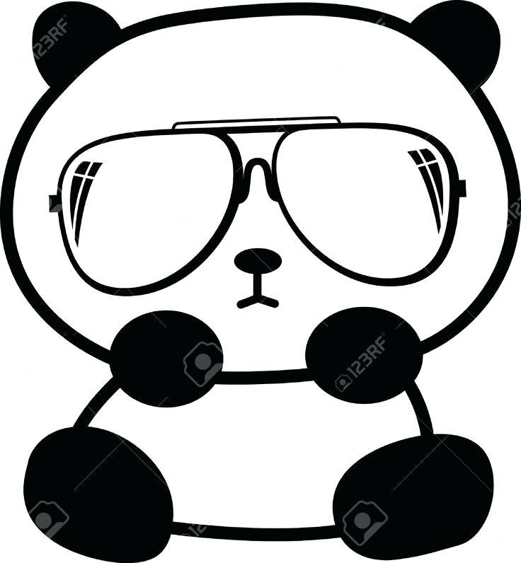 736x796 Drawings Of Pandas Drawing Panda Bears Step Step