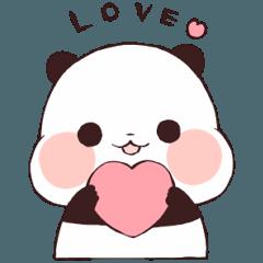 240x240 Love Love Yururinpanda Line Stickers Line Store