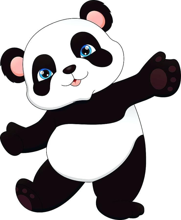 739x900 Baby Panda Drawing