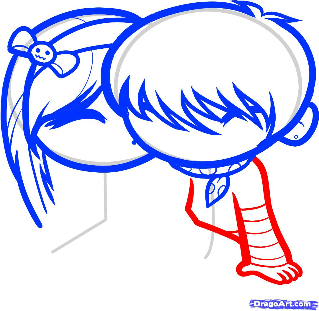 1081x1054 How To Draw Cute Love