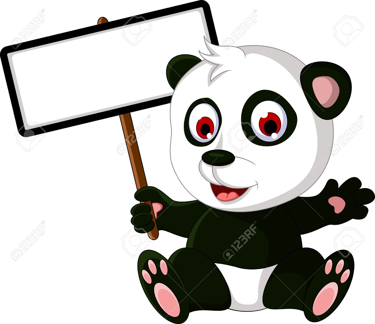 1300x1124 Collection Of Free Panda Clipart Draw Cartoon Amusement Clipart