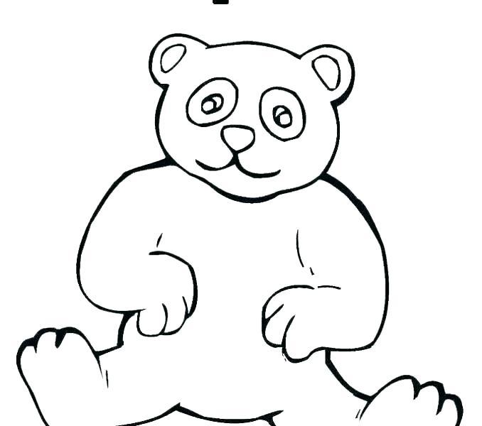 678x600 Cute Drawings Of Bears Bear Cute Drawings Of Panda Bears