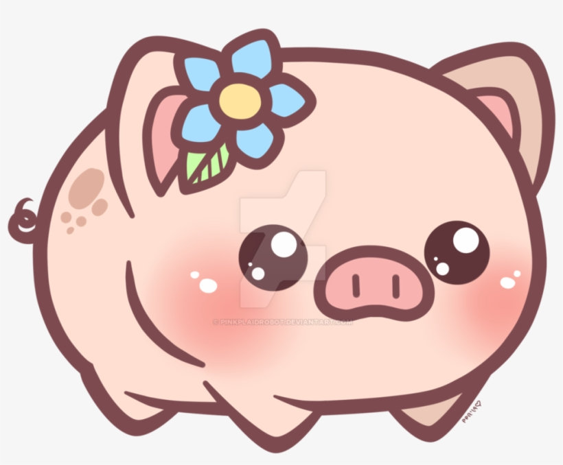 820x678 Cute Pig Cartoon Wallpaper