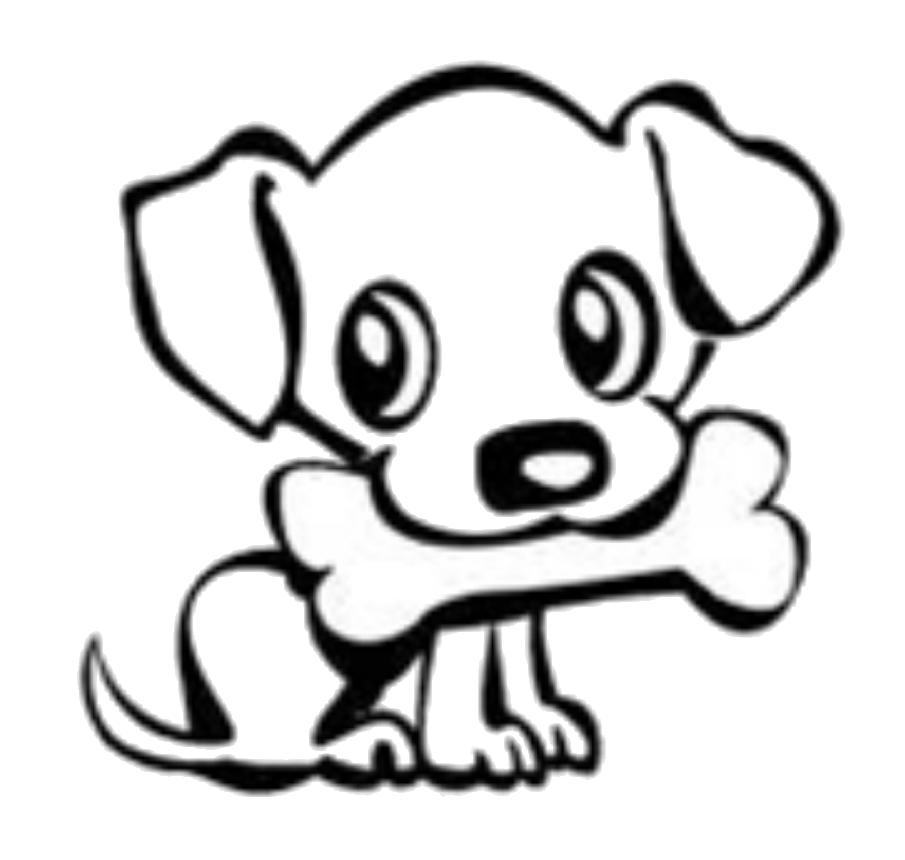 Cute Puppy Drawing