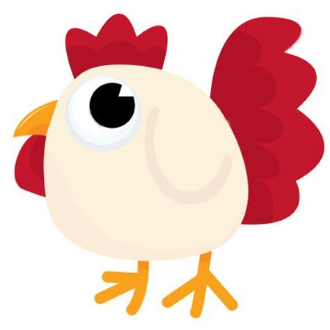 474x474 Cute Chicken Clipart