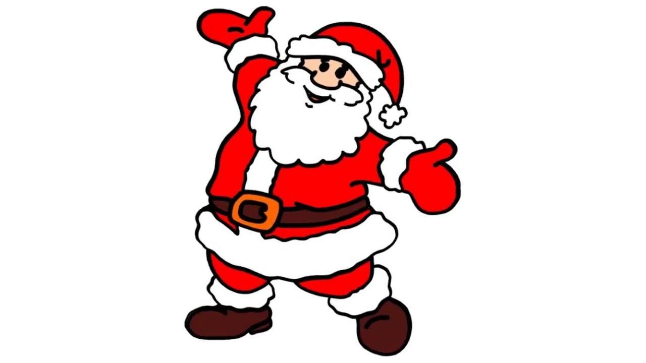 Cute Santa Drawing Free Download Best Cute Santa Drawing