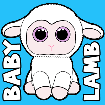 Cute Sheep Drawing | Free download on ClipArtMag