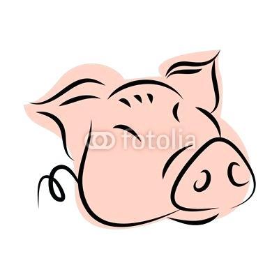 400x400 cute pig drawings cartoon cute guinea pig easy drawing
